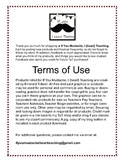 Terms of Use: If You Mustache, I {heart} Teaching