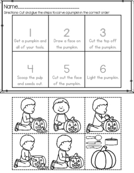 FREEBIE How To Carve A Pumpkin Picture Sequence