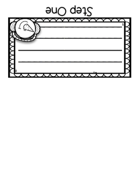 FREEBIE! How to Build a Snowman {Writing Flip Book}