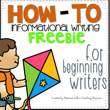 FREEBIE How-to Writing Sequencing Sample
