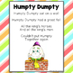 FREE Humpty Dumpty Printable Poem for Poetry Journals & Si