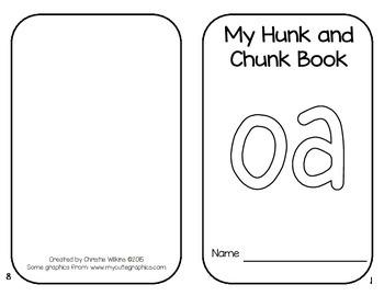 FREEBIE! Hunk and Chunk Book Sample: oa