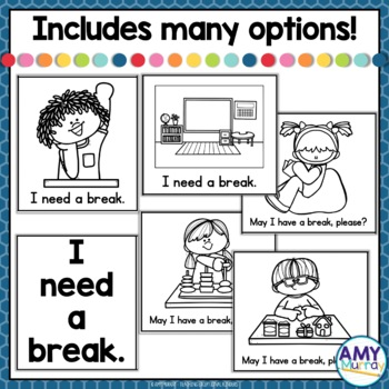FREEBIE - I Need A Break Cards