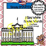 FREEBIE:  I Spy White House Words