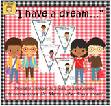 "FREEBIE ""I have a dream..."" Pennant Banner Worksheet"