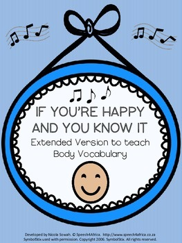 FREEBIE: If You're Happy And You Know It- Extended version targeting body vocab