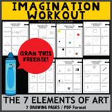 FREEBIE! Imagination  Workout - The 7 Elements of Art