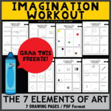 FREEBIE! Imagination  Workout - The 7 Elements of Art