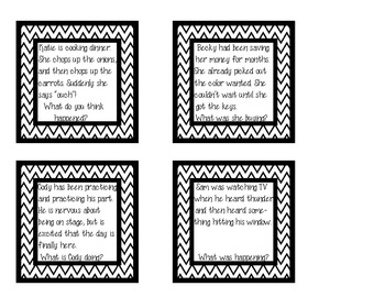 FREEBIE- Inference cards
