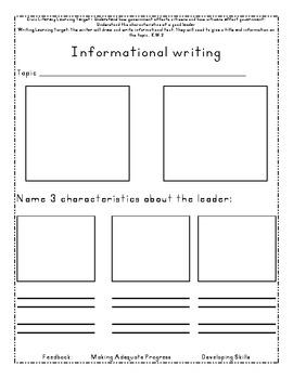 Freebie informational writing template leadersllleaders by digital freebie informational writing template leadersllleaders maxwellsz
