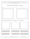 FREEBIE Informational Writing Template- LeadersllLeaders