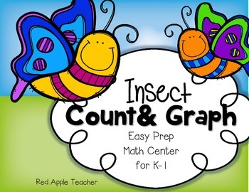 FREEBIE--Insect Count & Graph--Math Graphing Center for K-1