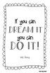 FREEBIE Inspirational Posters (Black & White)