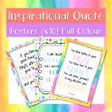FREEBIE Inspirational Posters (Watercolour)