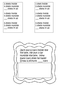 FREEBIE Interactive Math Notebook Basic Addition Sample