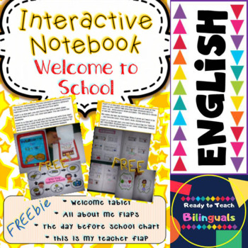 Back to School - FREEBIE Interactive Notebook (Welcome to School)