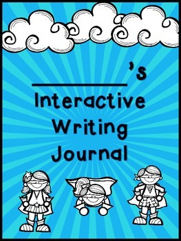 FREEBIE-Interactive Writing Journal Cover