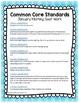 FREE January Kindergarten Morning Seat Work - Common Core