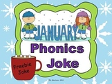 FREEBIE January Phonics Joke