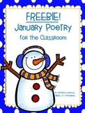 FREEBIE! January Poetry With Sight Word Practice