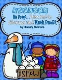 FREEBIE January Winter Math and Literacy Print and Go
