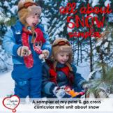FREEBIE: January / Winter Non-fiction Snow Mini Unit Sampler