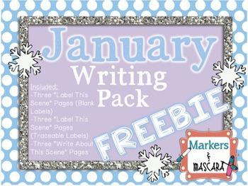 FREEBIE - January Writing Pack