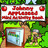 FREEBIE:  Johnny Appleseed Mini Activity Book - Foldable - Just print and go!