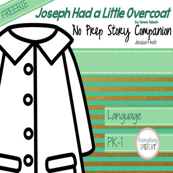 FREEBIE: Joseph Had a Little Overcoat No Prep Story Companion