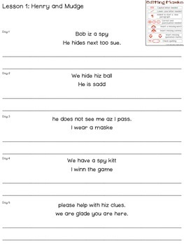FREEBIE Journeys Proofreading Practice 2nd Grade Lesson 1 and 2