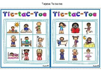 FREEBIE!!! Juegos para Verbos en Español