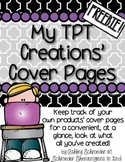 FREEBIE! Keeping track of your TPT Product Cover Pages!