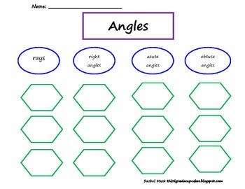 FREEBIE Keys to Literacy Rays and Angles Top Down Web