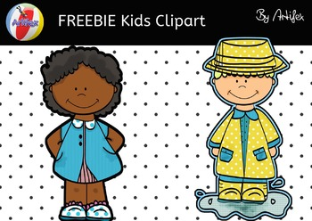 FREEBIE Kids Clipart!