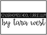 FREEBIE KinderHomeSchool Curriculum Guide