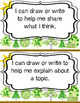"FREEBIE: Kindergarten Common Core Writing ""I Can"" Statements"