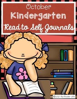 FREEBIE Kindergarten October Independent Reading Journals