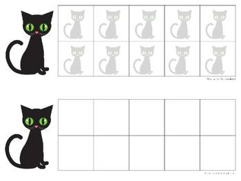 FREEBIE: Kitty Ten Frames