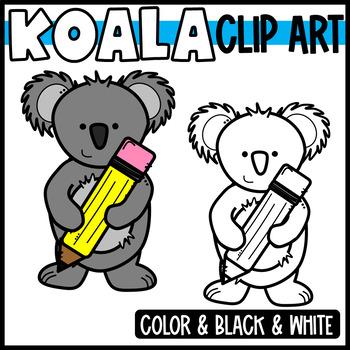 FREEBIE! Koala Clipart
