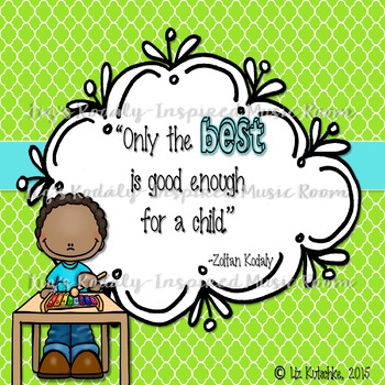 FREEBIE: Kodaly Quote Print