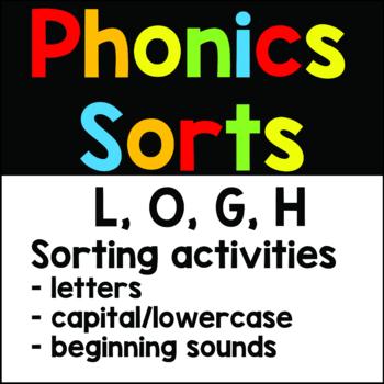 FREEBIE L, O, G, H Letter Sorts