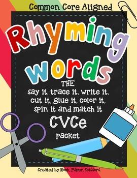 Long Vowel Rhyming