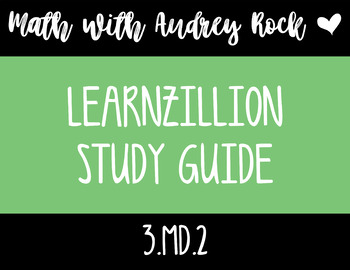 LearnZillion Video Study Guide 3.MD.2 - Estimate the Mass of an Object