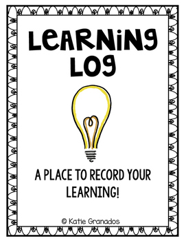 FREEBIE | Learning Log Journal