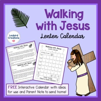 FREEBIE - Lent Calendar
