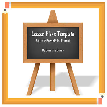 FREEBIE!  Lesson Plans Template