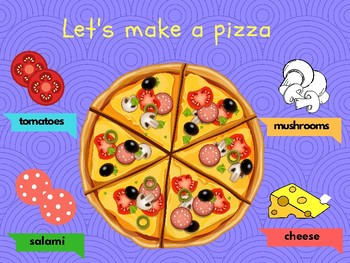 FREEBIE Let's make a pizza