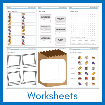 Let's Go 3 - Let's Remember Worksheets (FREEBIE!)