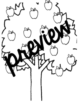 Letter Identification with Apple Trees