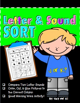 Freebie--Letter and Sound Sort